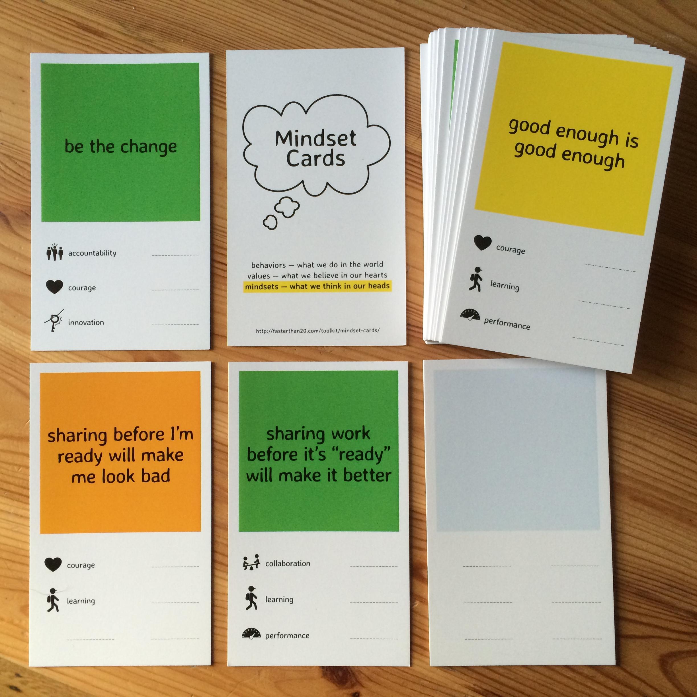 Toolkit: Mindset Cards