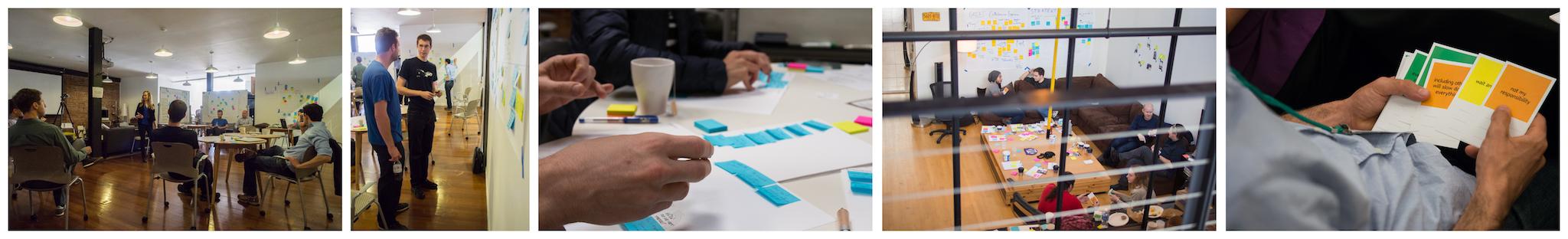 DIT Strategy / Culture Workshop Mosaic